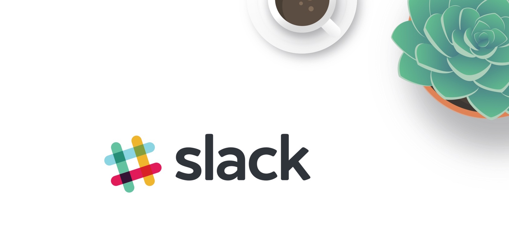 We used Slack to coordinate team activities (Slack logo)