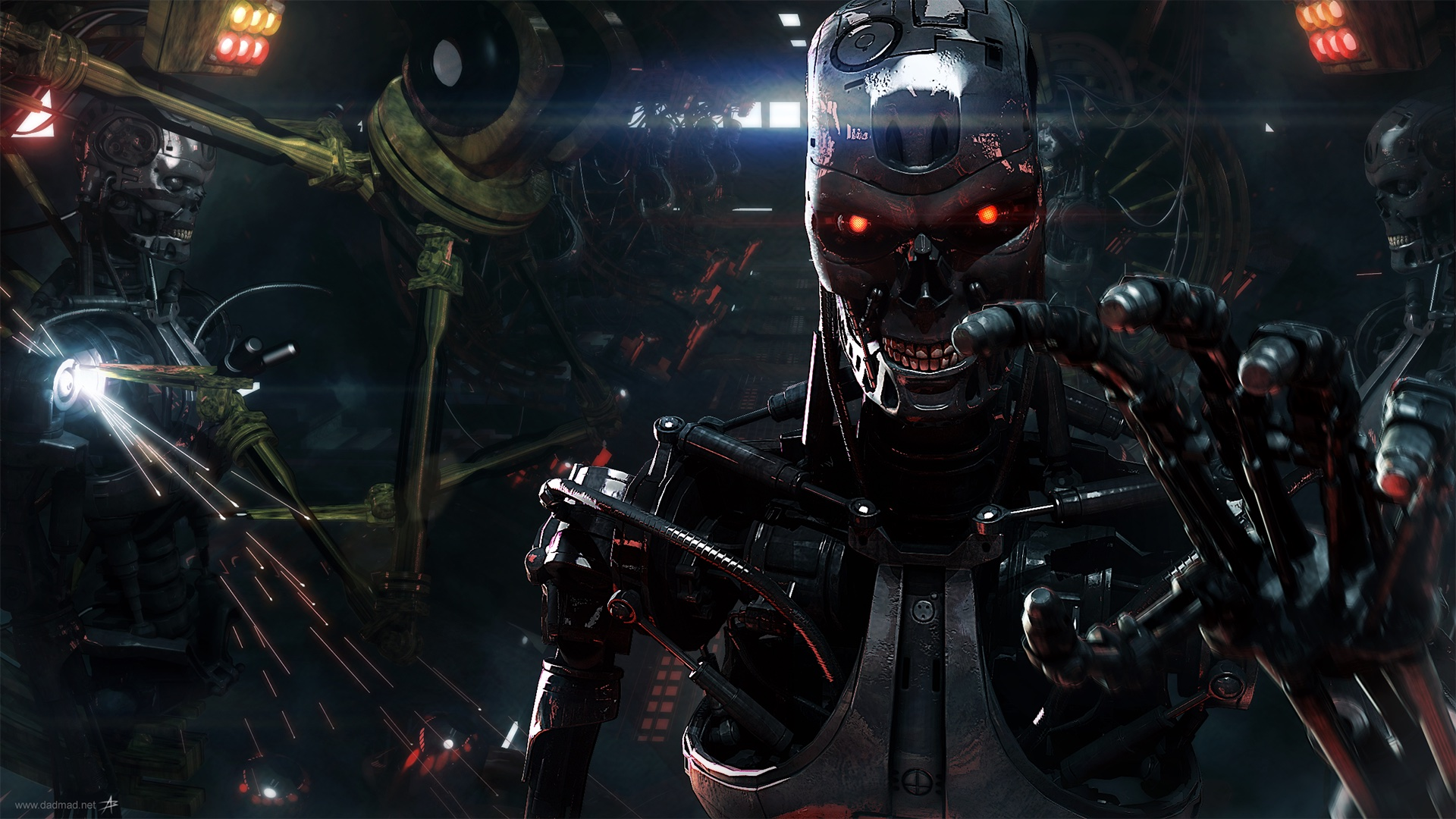 Terminator artwork. Image credit: http://orig14.deviantart.net/5dbc/f/2014/005/f/5/skynet_t800_factory_2__wallpaper__by_dadmad-d70yq68.png