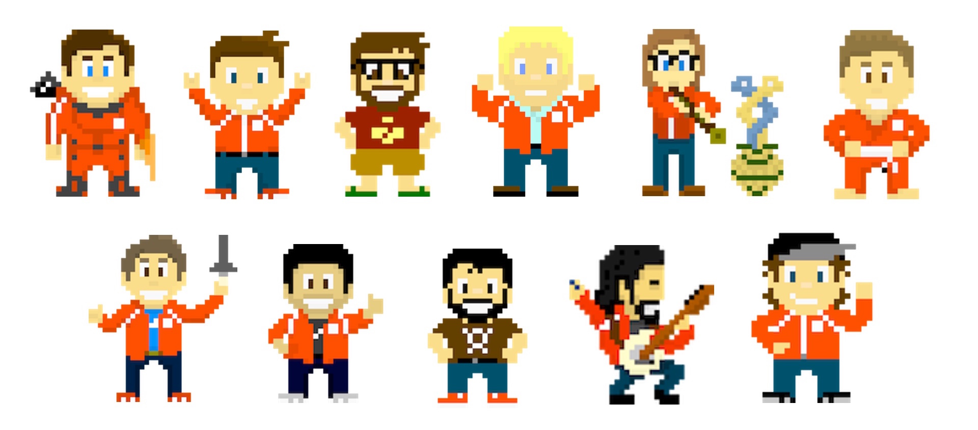 The DevNetwork as 8-bit characters