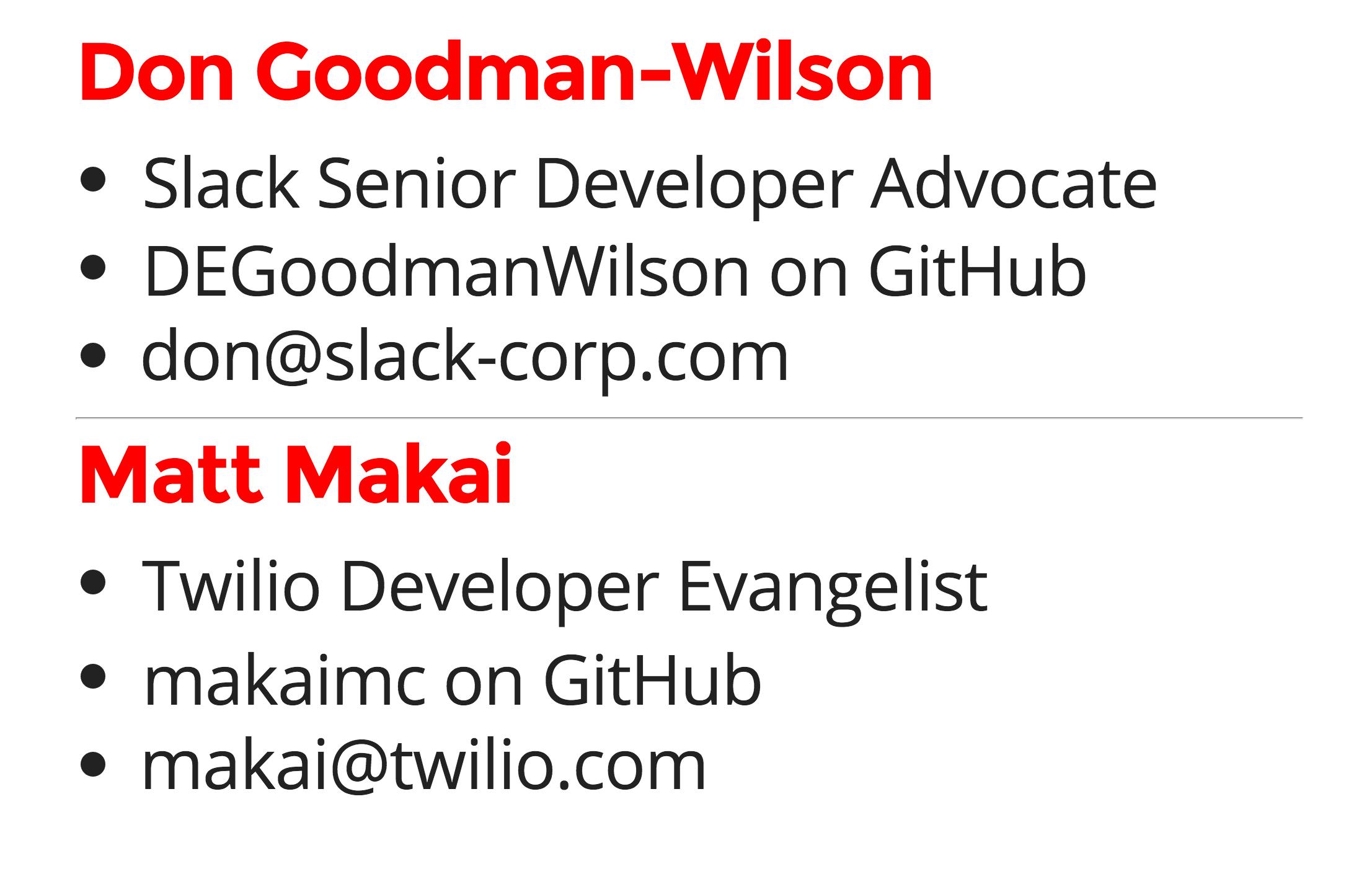 Matt Makai dot com